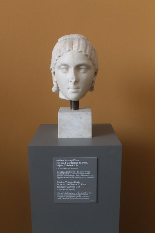 Head of Sabinia Tranquillina