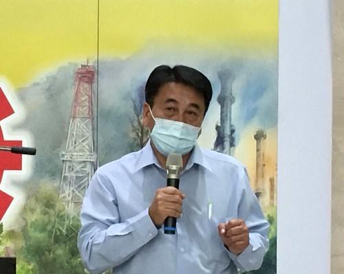 2.臺灣石油工會陳嘉麟理事長致詞