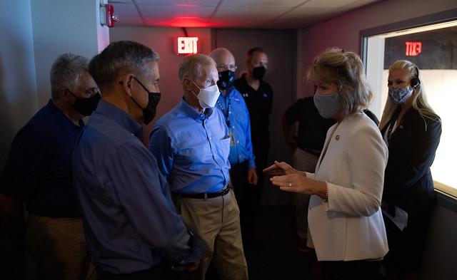 NASA Leadership Tours Wallops Flight Facility (NHQ202108100023)