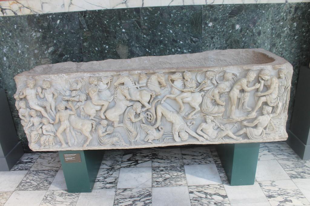 Sarcophagus with Phaethon Myth