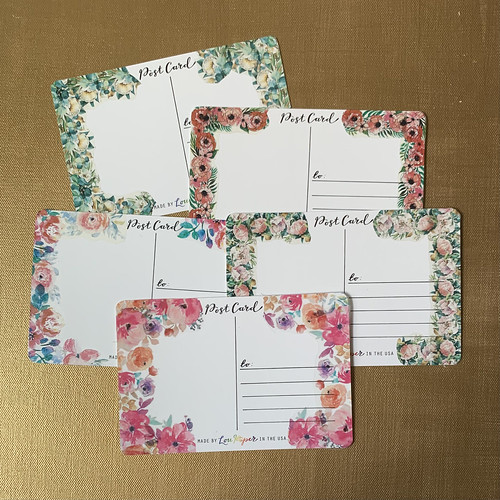 Outgoing postcards