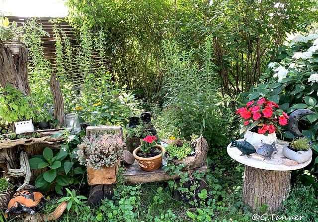 Im Vintagegarten