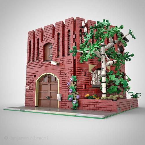 "Seifenfabrik ""Erica"" – Lüneburg aus LEGO"