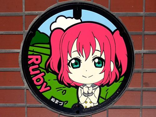 Numazu Shizuoka, manhole cover 8 (静岡県沼津市のマンホール8)