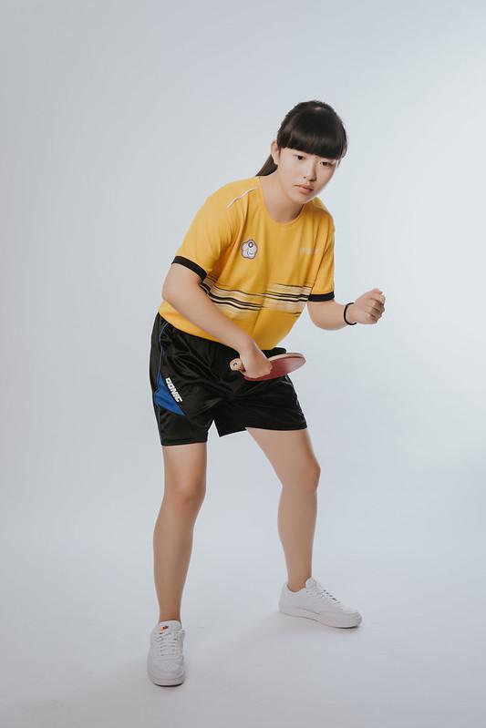 東京帕運桌球選手林姿妤。(圖/中華民國殘障體育運動總會提供)