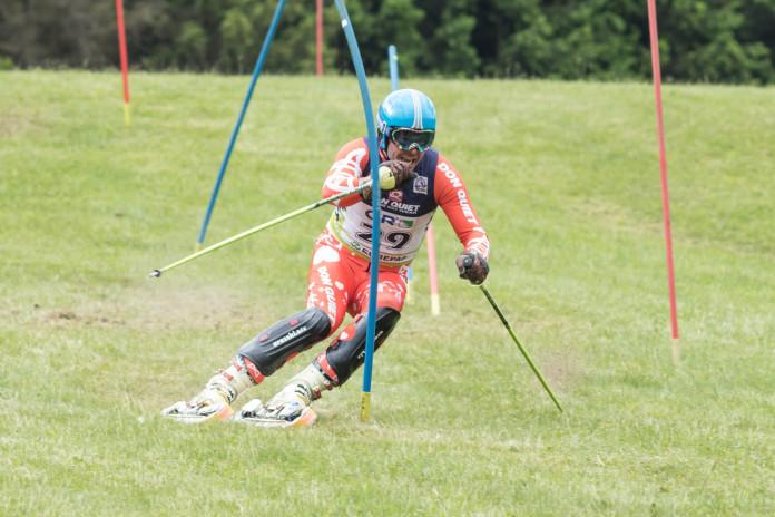 MS v travním lyžování: 14násobný mistr světa Jan Němec - sám sobě největším soupeřem