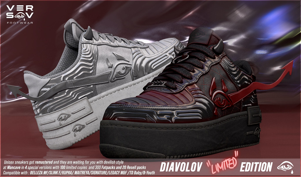 [ Versov // ] DIAVOLOV LIMITED EDITION available at MAN CAVE