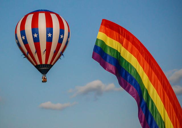Balloon Over the Rainbow