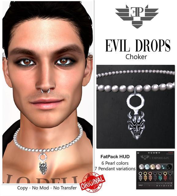 L'Emporio&PL::*Evil Drops*::-Pearl Choker-