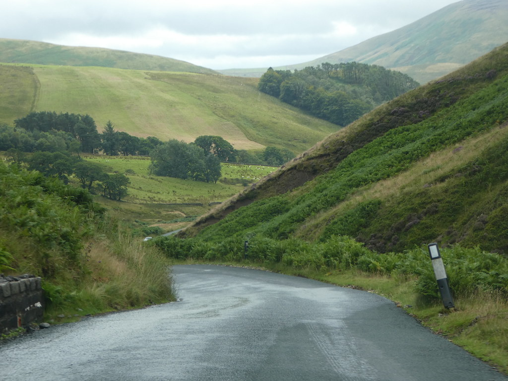 Stunning scenery through the Trough of Bowland