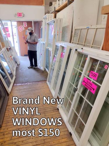 Vinyl Slider Windows