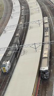 函館駅俯瞰