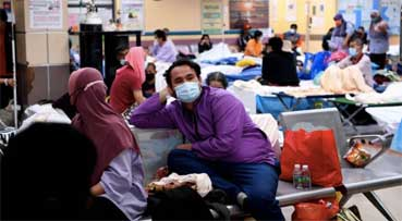 Klang hospital sees 50% drop in Covid-19 admissions