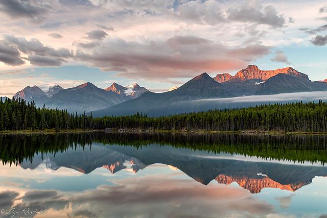 Sunrise in the Rockies (Explored)