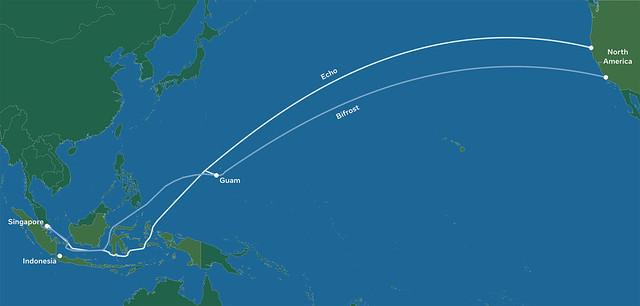 Kabel Dasar Laut Baharu Facebook, Tiada Malaysia Tapi Negara Jiran Ada