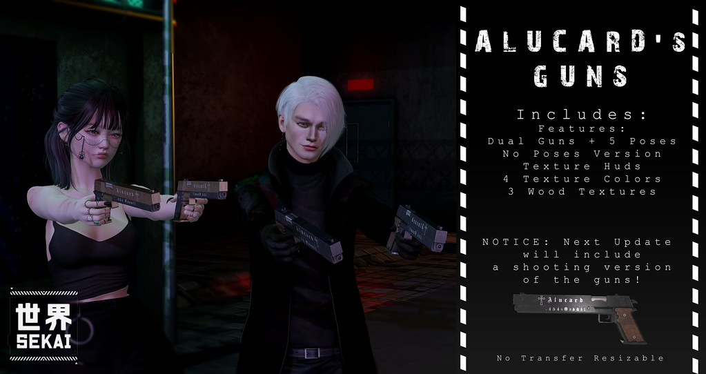 +SEKAI+ Alucard's Guns – Mancave Event