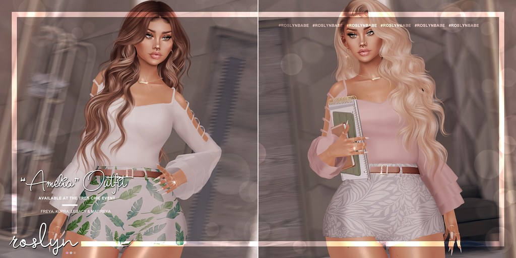 """roslyn. """"Amelia"""" Outfit @ Tres Chic // GIVEAWAY!"""
