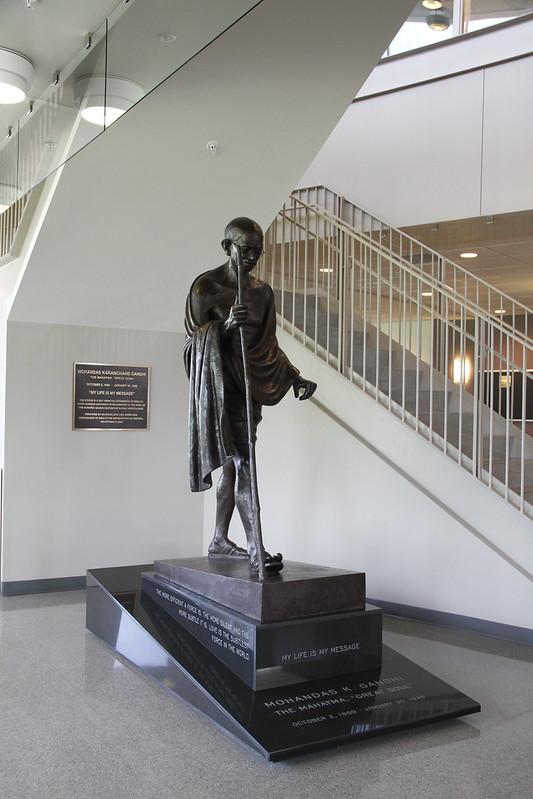 Public Art at JMU: Mahatma Karamchand Gandhi