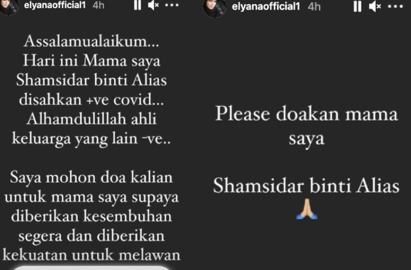 """""""Keadaan Sendiri Pun Tak Okey.."""" Ibu Positif Covid-19, Elyana Dilanda Kebimbangan"""