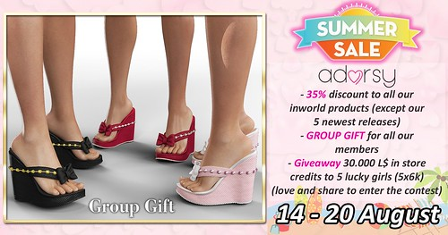 GROUP GIFT - SUMMER SALE