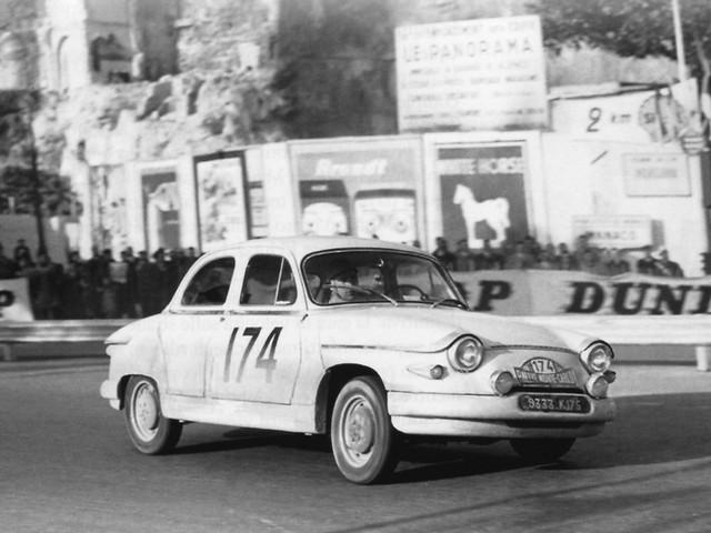 Panhard PL17 – Montecarlo 1961