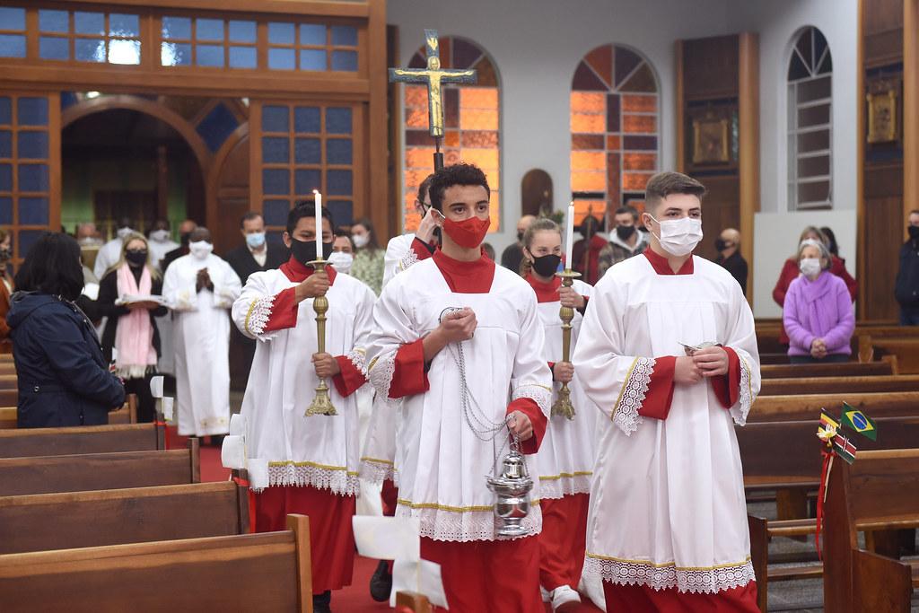 Ordenação Diaconal de Nicolas e Malius