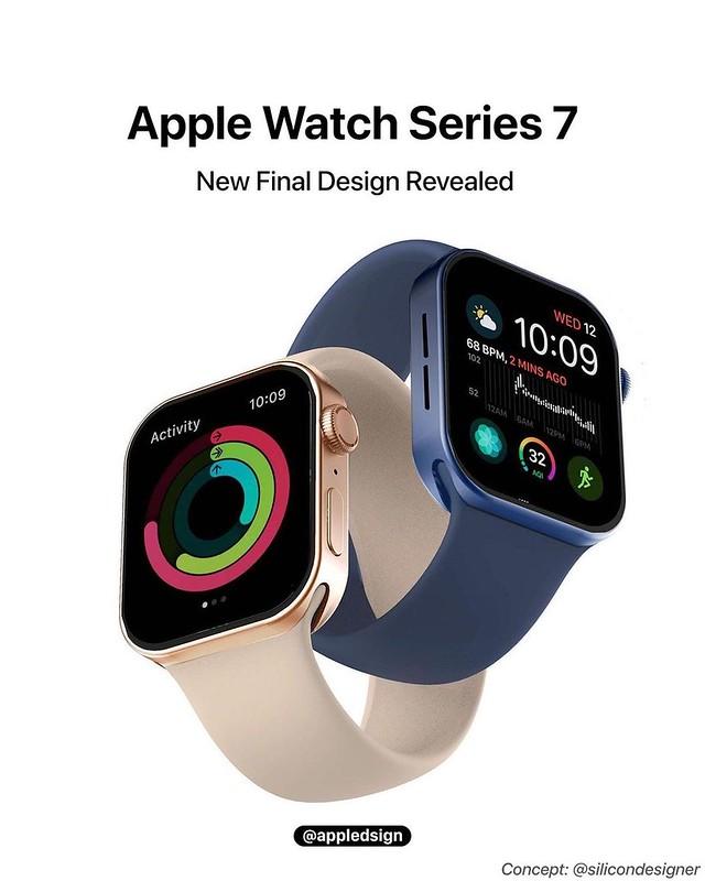 Apple Watch 7 Mungkin Hadir Dengan Rekaan Lebih 'Kotak&Quot;