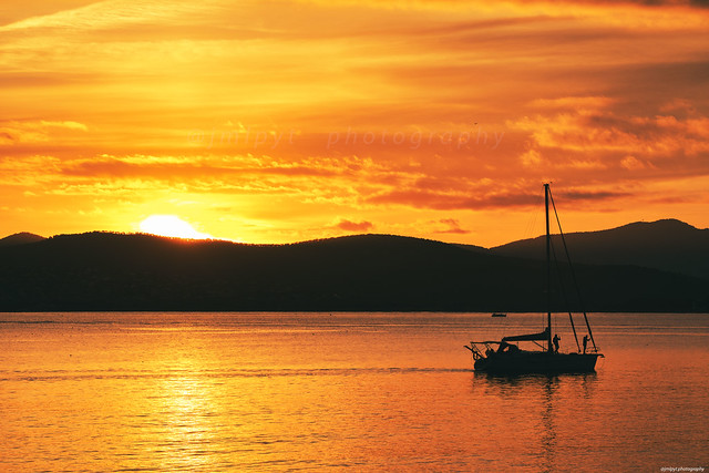 Amazing sunset in French Riviera - Saint-Raphael - Provence - Var -3D0A8943-Modifier