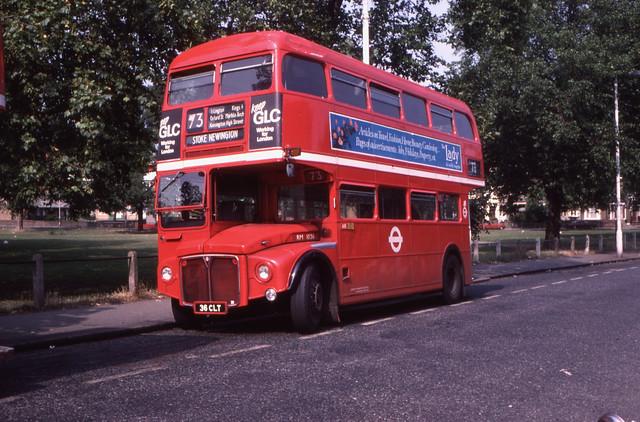 11964T - London Regional Transport RM 1036 (36 CLT) - Stoke Newington - 26 Aug 1984