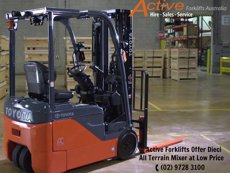 We Offer Best Quality Electric Forklift Truck for Commercial and Industrial Application