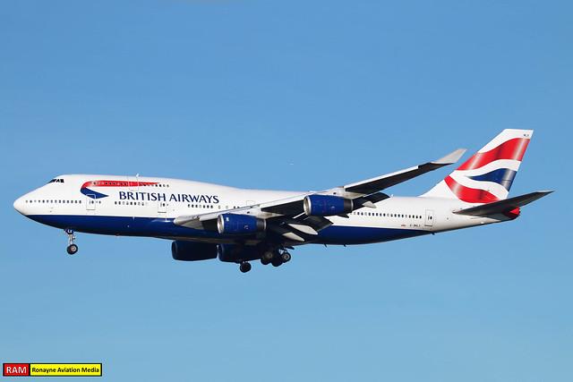 G-BNLX | Boeing 747-436 | British Airways