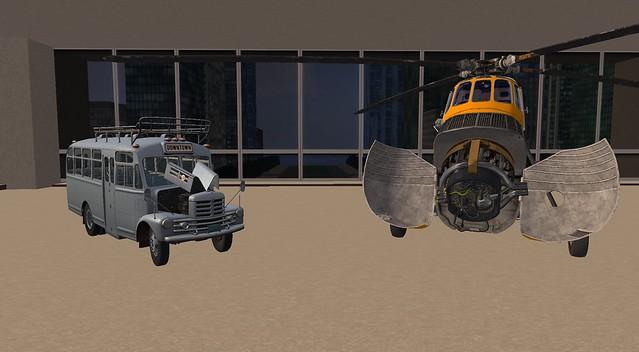My Iwaki B32 and my Shergood Aviation Sikorsky S-58! in COAST GUARD Paint!
