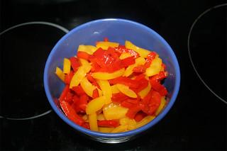 09 - Put bell pepper aside / Paprika bei Seite stellen