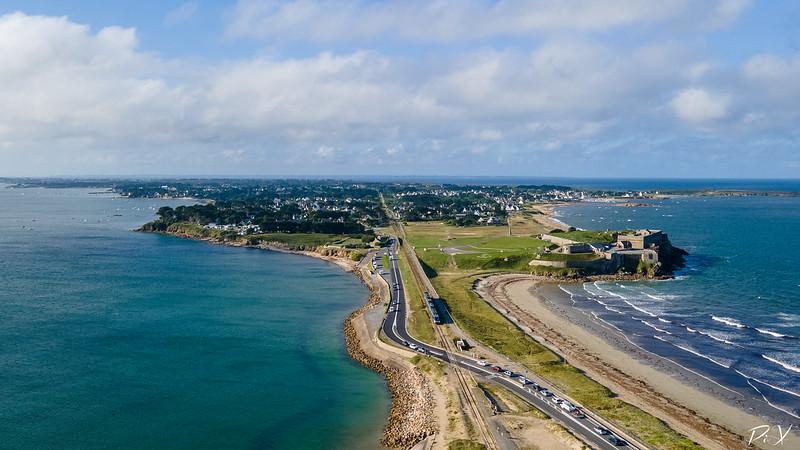 PiX  - Eric Gillard | Photo aérienne de la presqu'ile de Quiberon