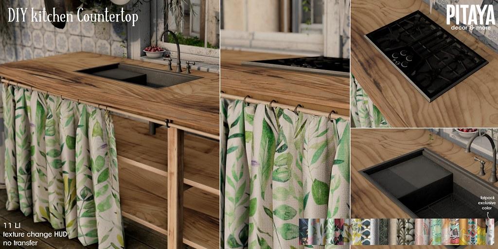 Pitaya – DIY kitchen Countertop @ k9