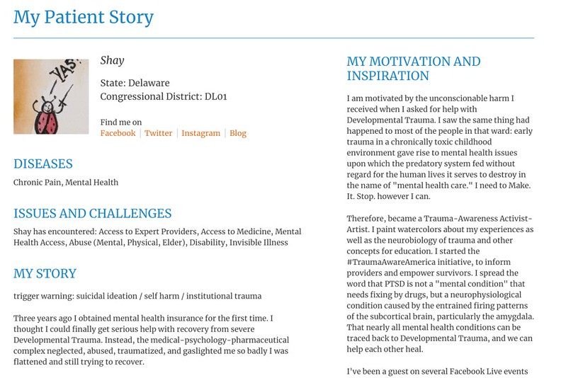 my patient story on patients rising