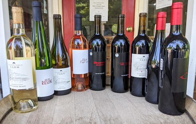wine tasting at Anthony Nappa Wines