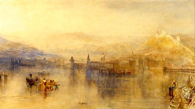 Lucerne from the Lake by William Turner