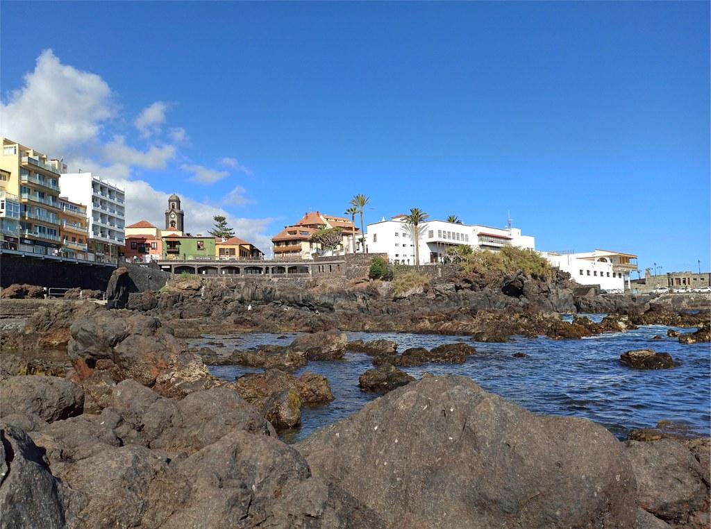 Arrecifes en Puerto de la Cruz