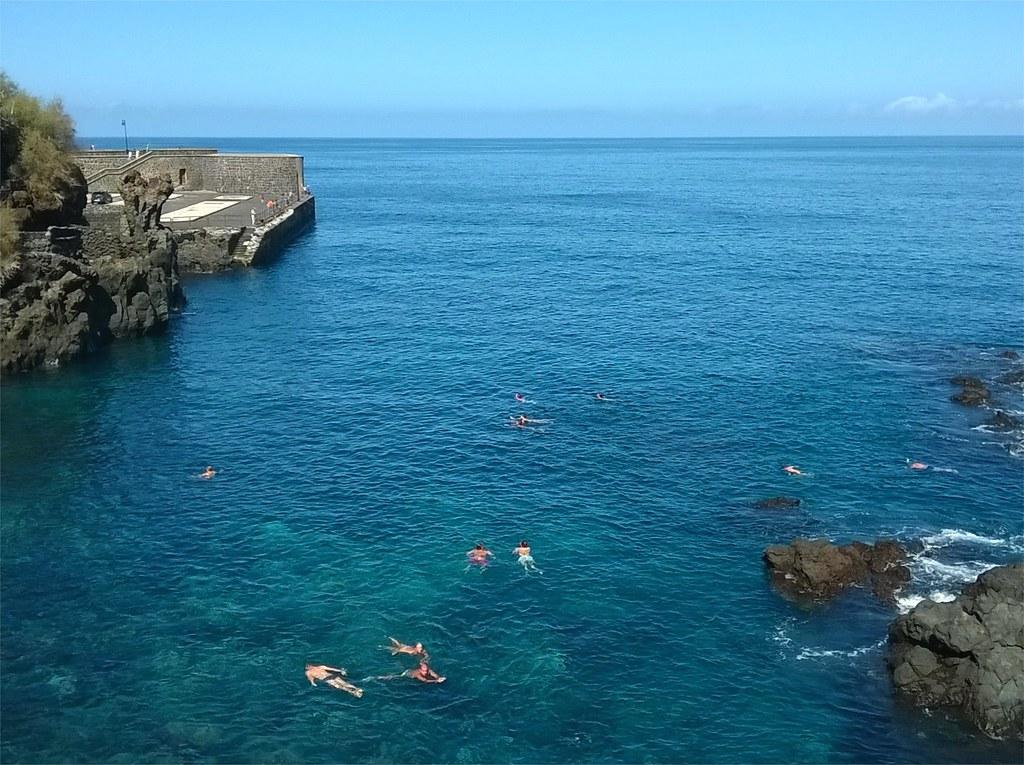 Snorkel en Puerto de la Cruz