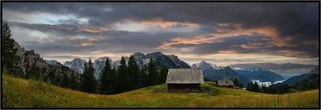 Lögerhütte 1360 m