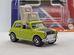 MATCHBOX 1964 AUSTIN MINI COOPER NO61 MR BEANS CAR 1/64