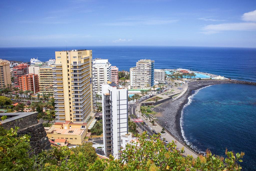 Puerto de la Cruz en Tenerife
