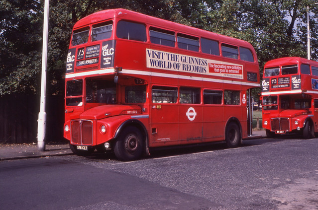 11965T - London Regional Transport RM 1576 (576 CLT) - Stoke Newington - 26 Aug 1984