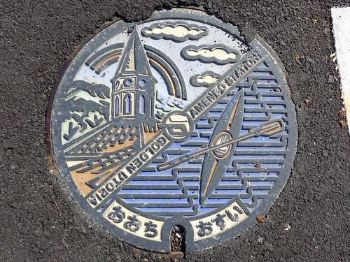 Ōchi Shimane, manhole cover (島根県邑智町のマンホール)