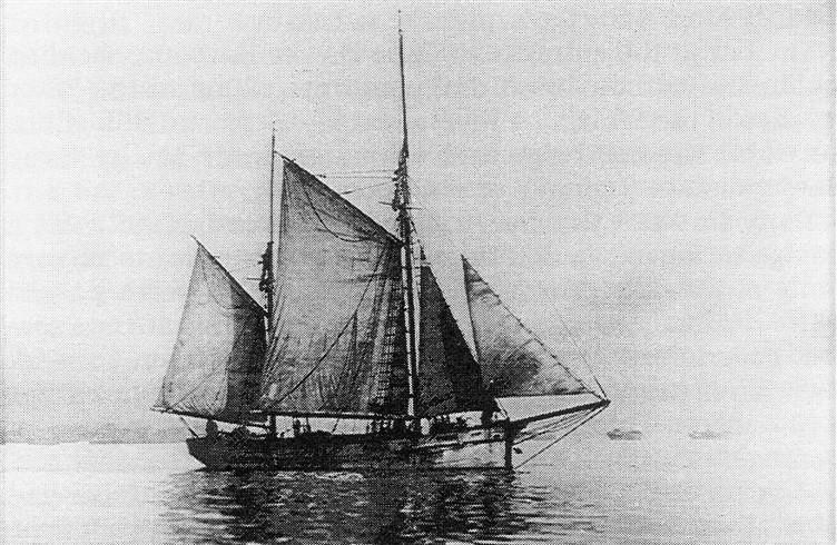 ketch 'Active' (1877 - 1898)