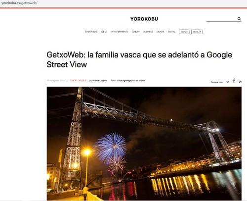 GetxoWeb en Yorokobu: la familia vasca que se adelantó a Google Street View