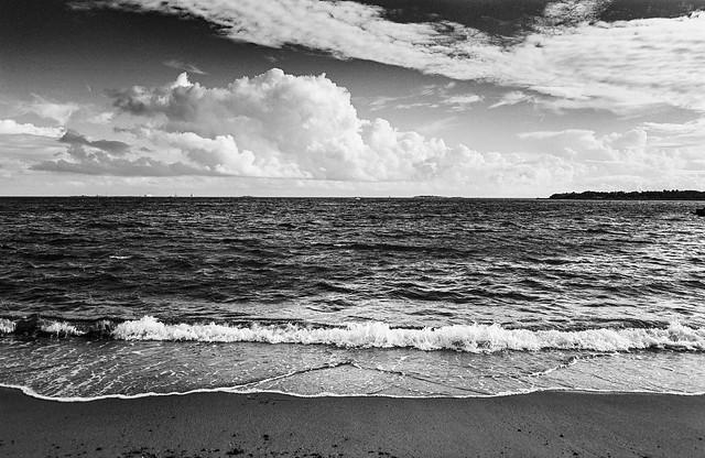 Eira beach & the Baltic Sea