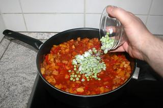 38 - Add peas / Erbsen hinzufügen