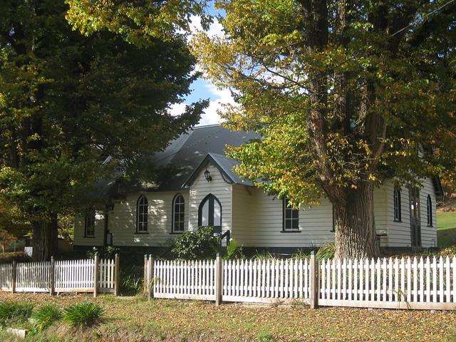 The Former Holy Trinity Church of England - Morses Creek Road, Wandiligong